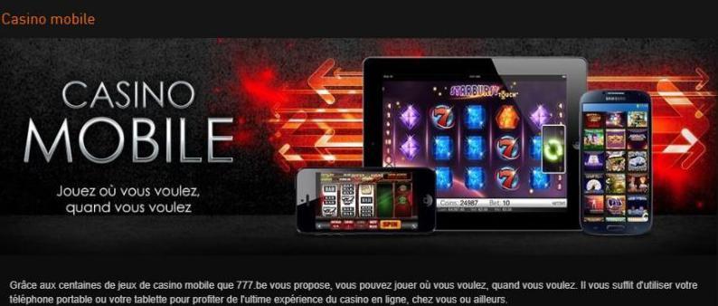 Mobiel Casino777