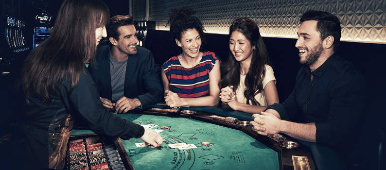 Blackjack spel spelen