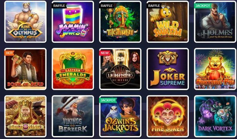 Lucky8 casinospelen