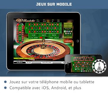 Tablet en mobiel casino