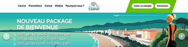 azur-casino review account