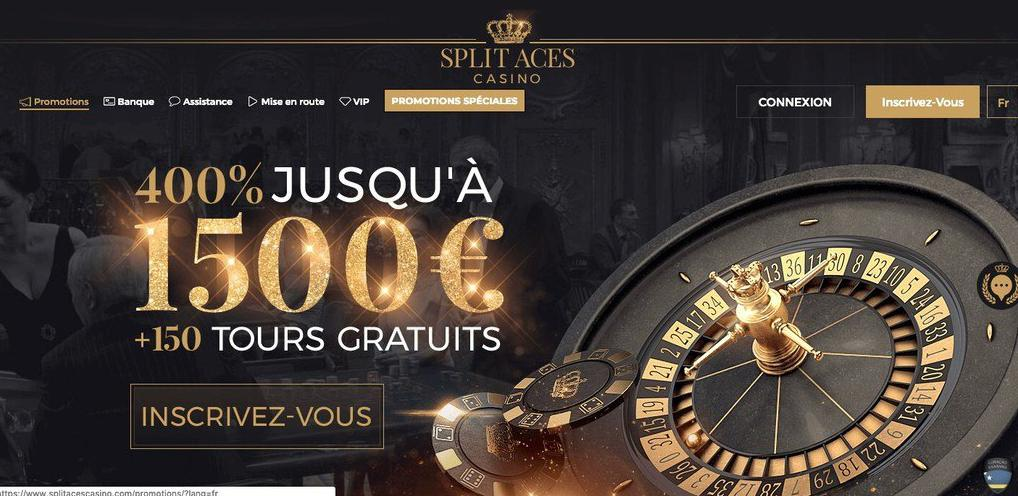Split Aces Casino thuis