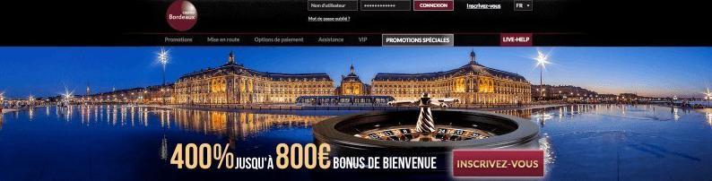 Casino Bordeaux Bonus